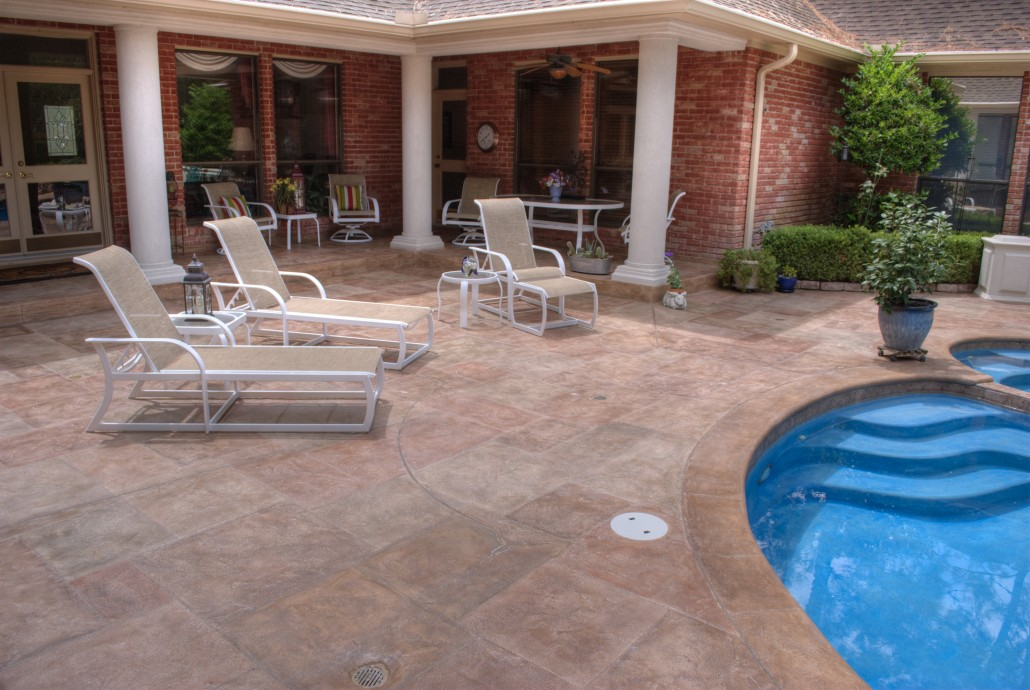 Image of: Resurface Pool Deck Picture