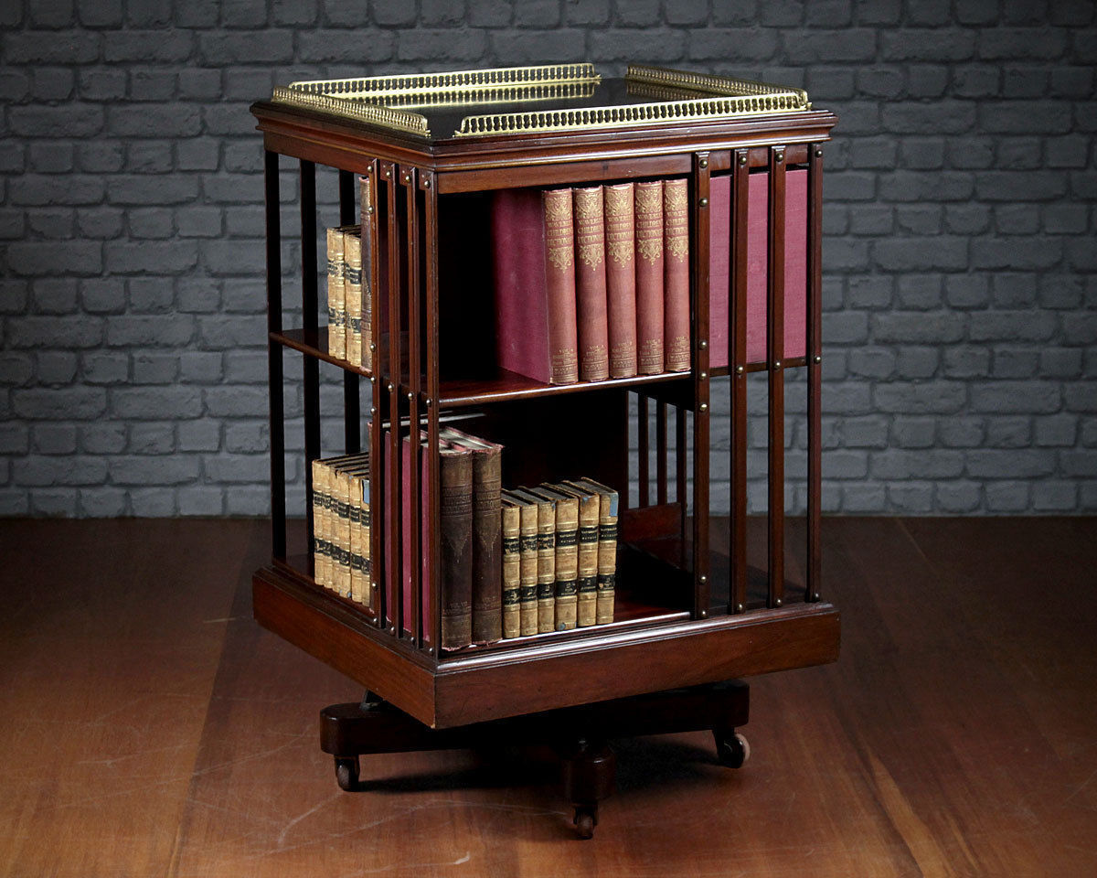 Image of: Revolving Bookcase Style