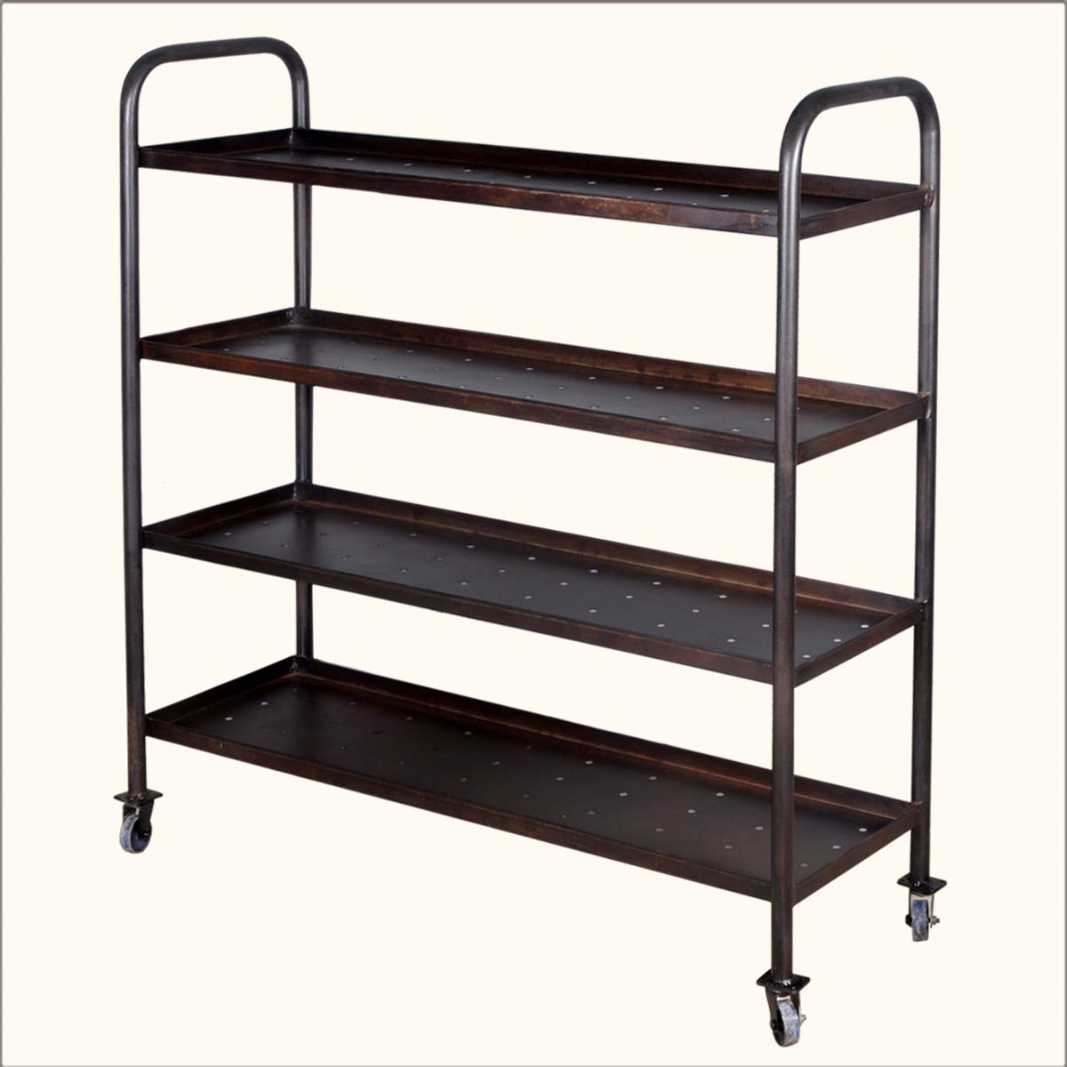 Image of: Rolling Bookcase Ideas