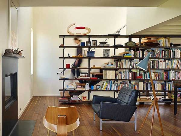 Image of: Room Divider Bookcase Images