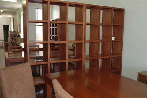 Image of: Room divider bookcase