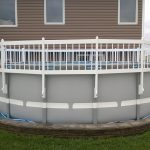 Round Above Ground Pool Fence