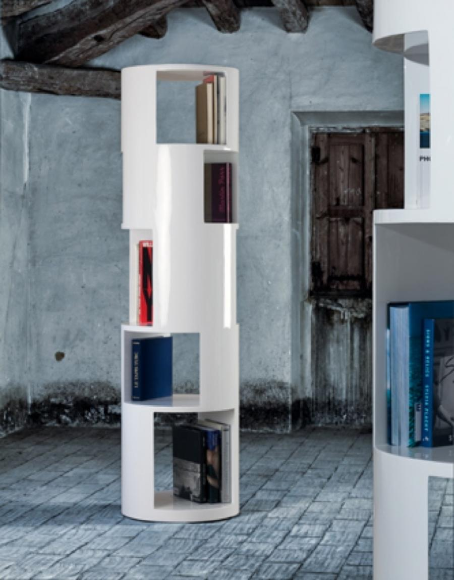 Image of: Round Bookcase Display