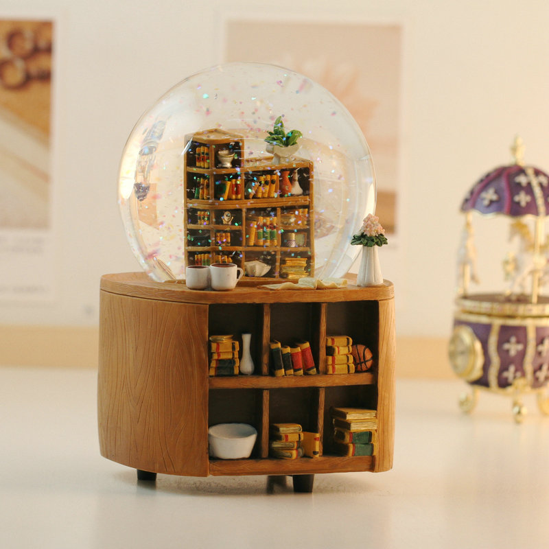 Image of: Round Bookcase Small