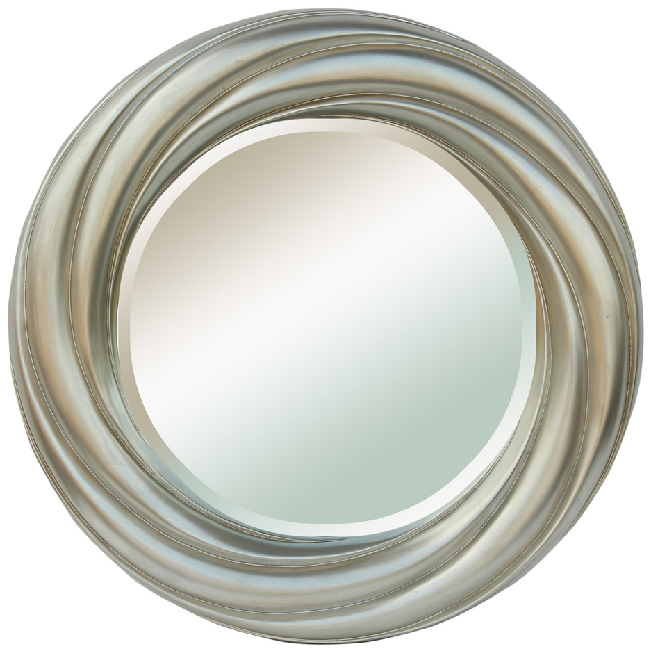 Image of: Round Wall Mirror Decor