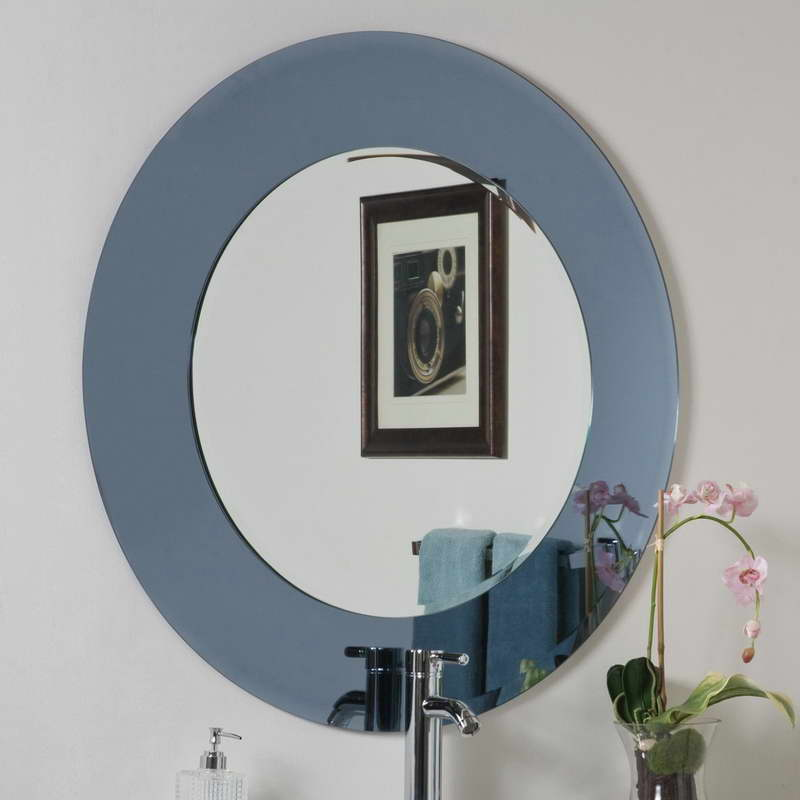 Image of: Round Wall Mirror Target