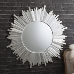 Round Wall Mirrors for Living Room