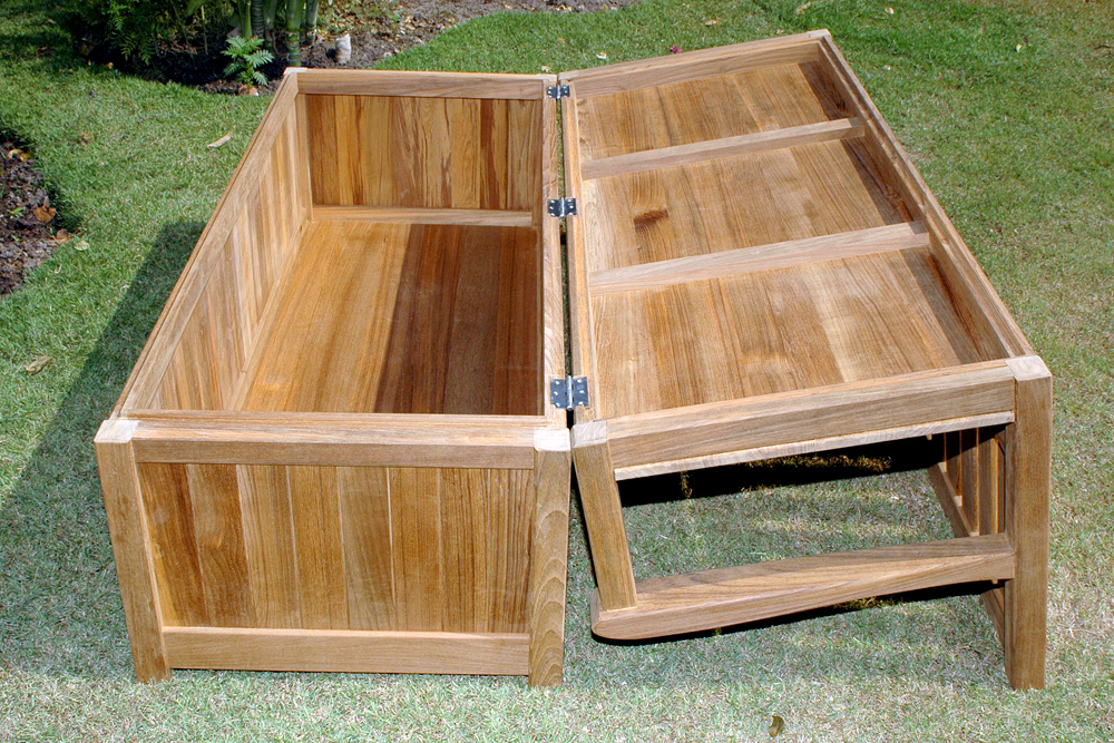 Image of: Rubbermaid Deck Storage Box