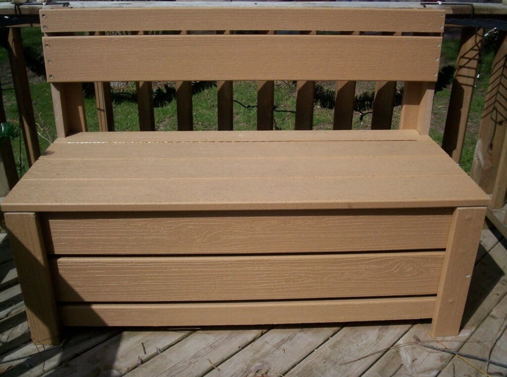 Image of: Rubbermaid Deck Storage Cube