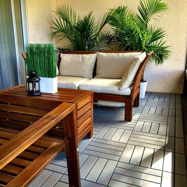 Image of: Runnen Floor Decking Grey