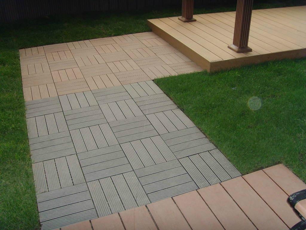 Image of: Runnen Floor Decking Porch