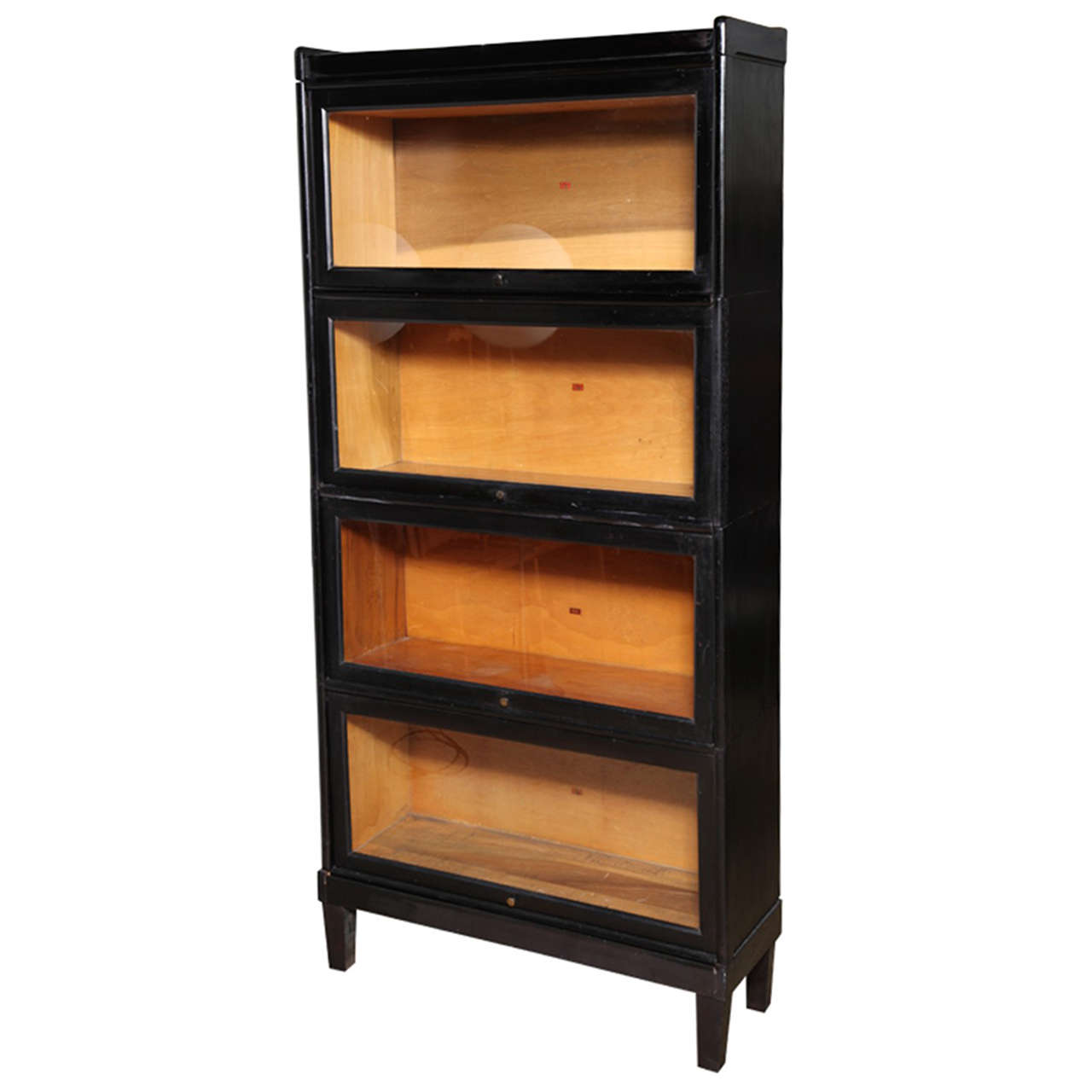Image of: Rustic Barrister Bookcase