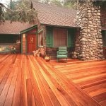 Rustic Redwood Decking