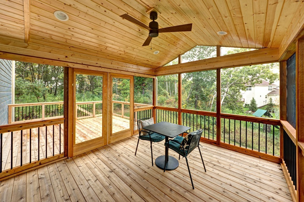 Image of: Screen Rooms for Decks Additions