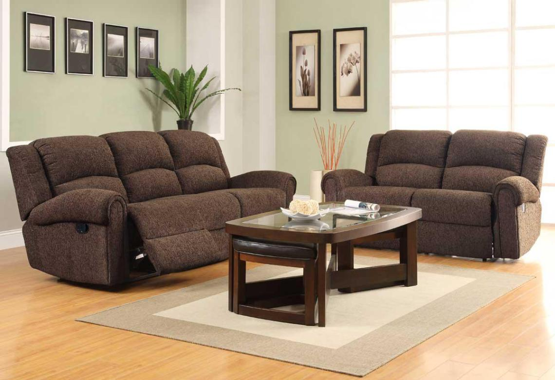 Image of: Sectional Reclining Couch