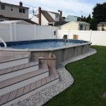 Semi Inground Pools Designs