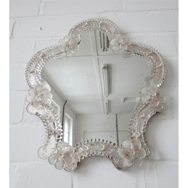 Image of: Shaped Vintage Wall Mirrors