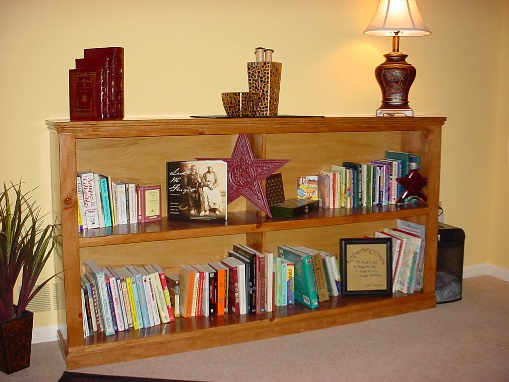 Image of: Short Bookcase Picture