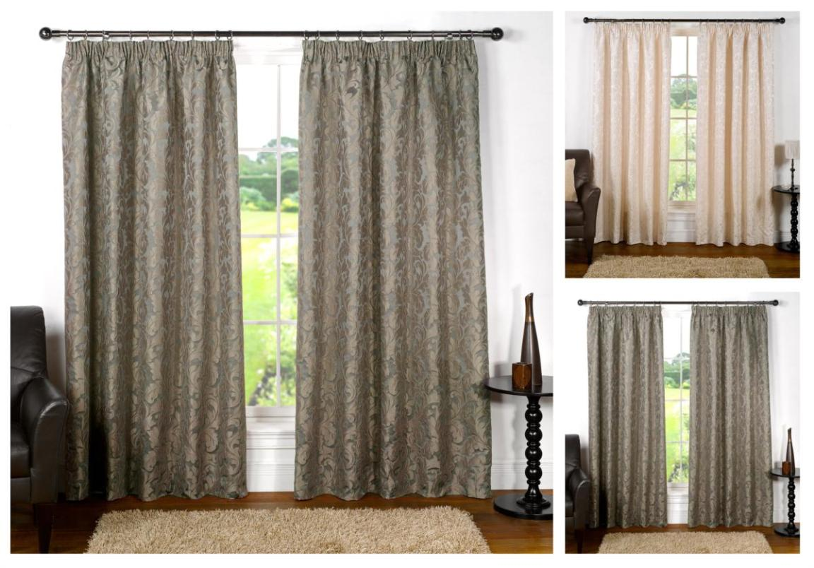 Image of: Silk Curtains Texture