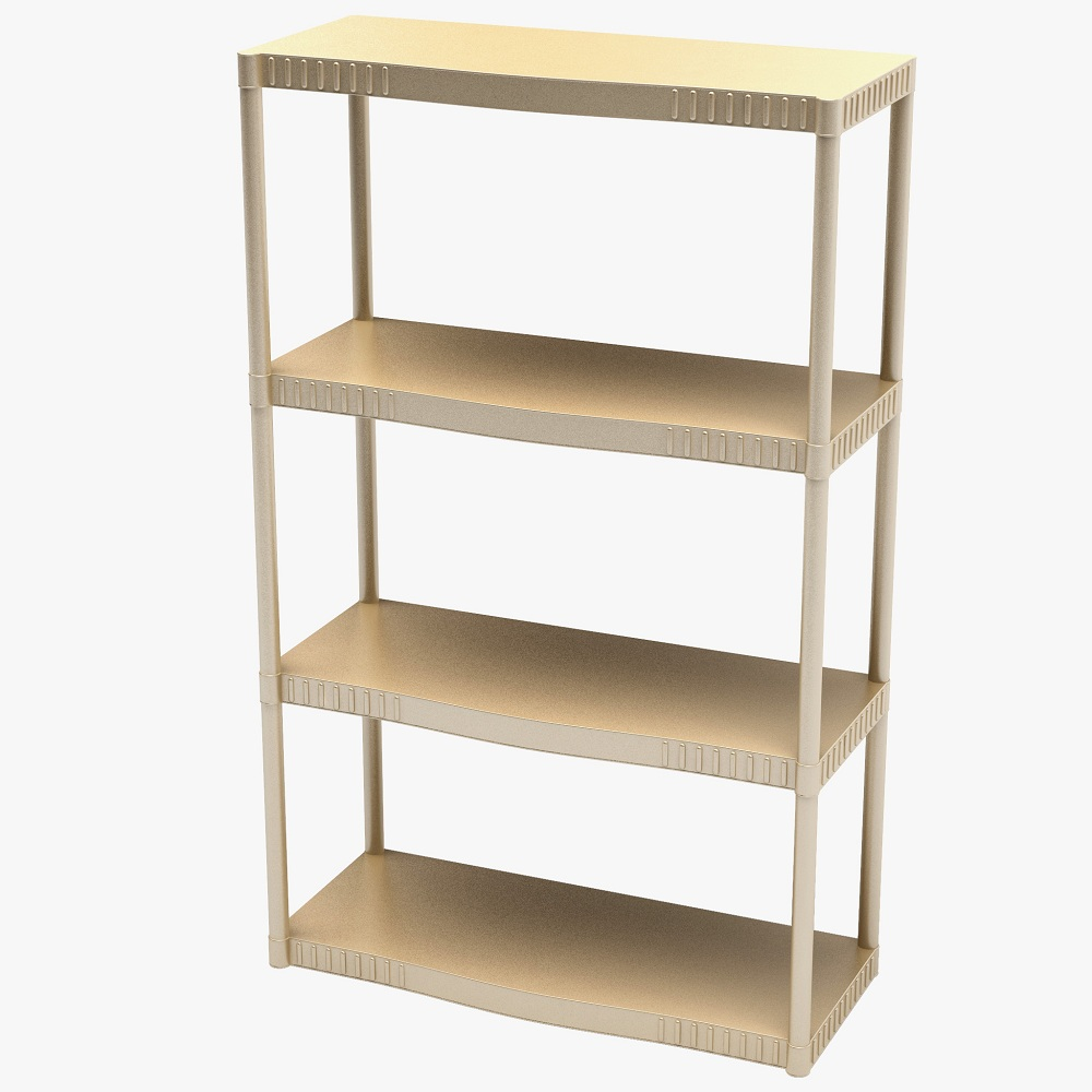Image of: Simple Acrylic Bookcase