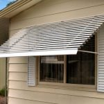 Simple Aluminum Window Awnings