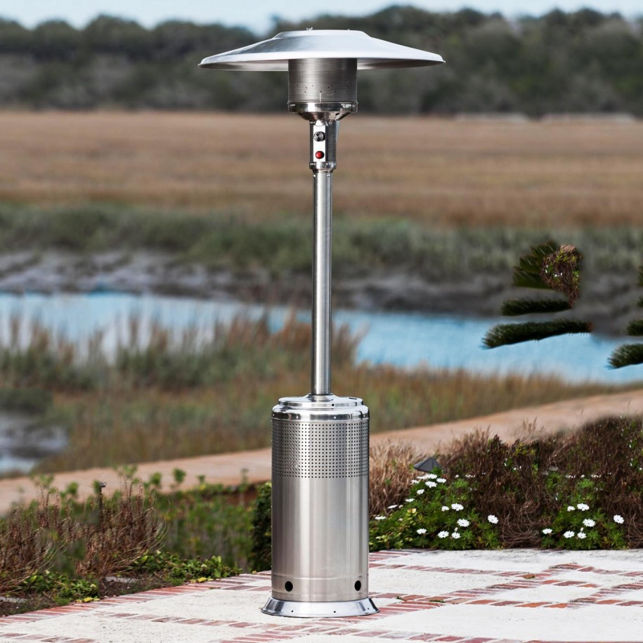 Image of: Simple Propane Patio Heater