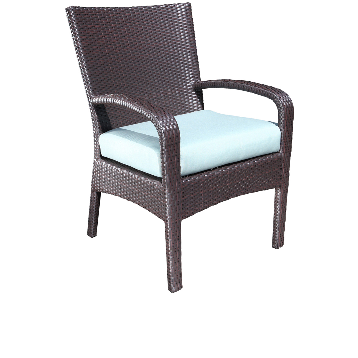 Image of: Simple Wicker Patio Chair
