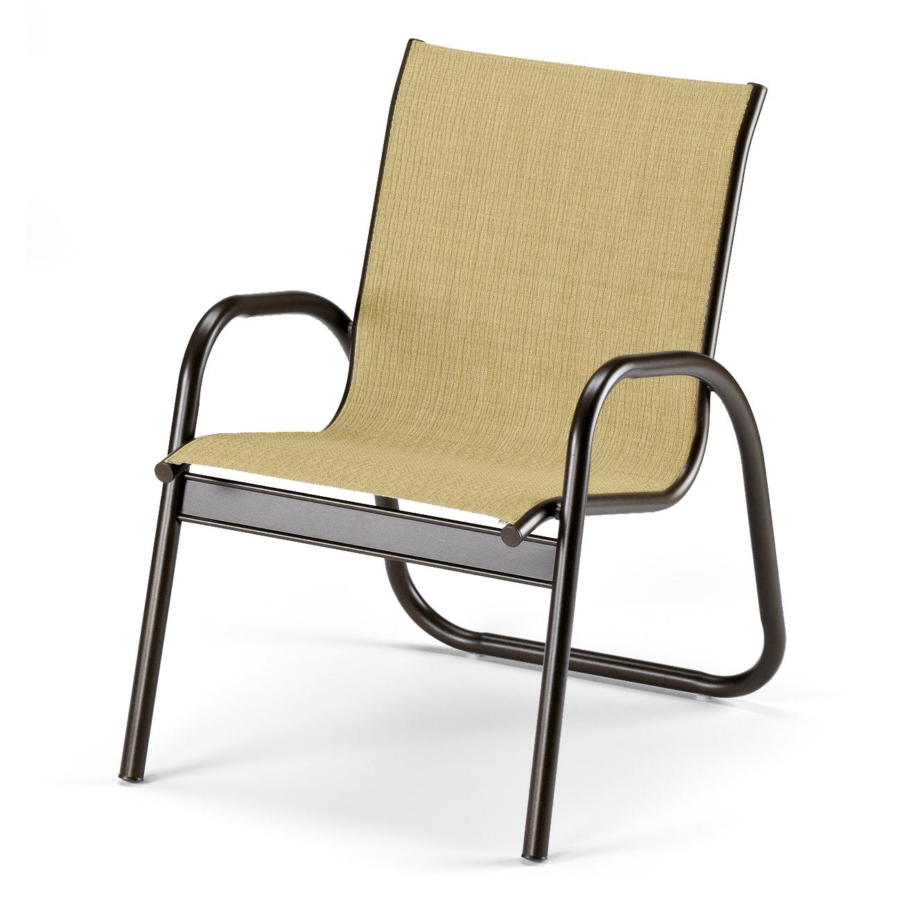 Image of: Sling Patio Chairs Design
