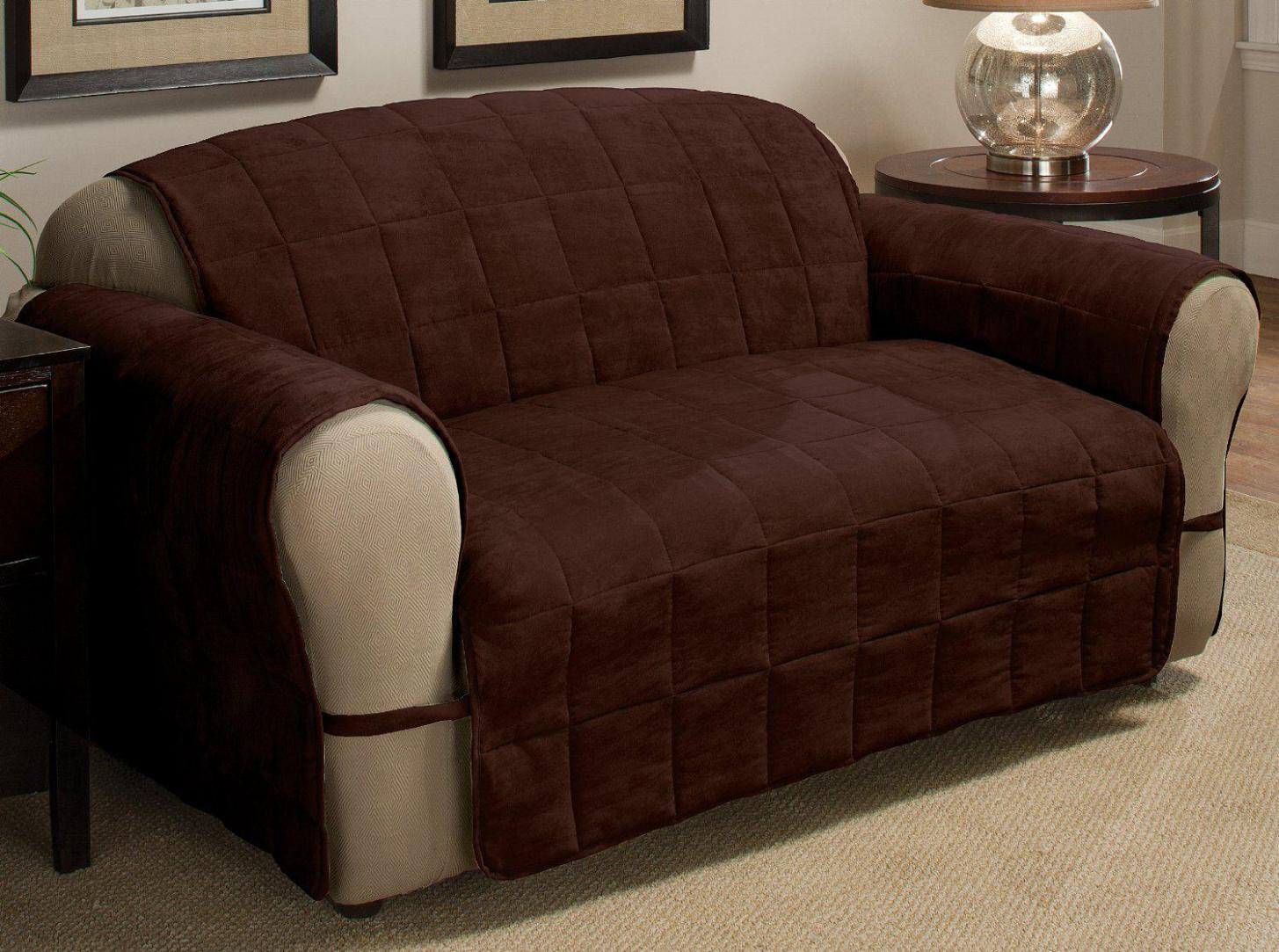 Image of: Slipcovers For Couches With Recliners