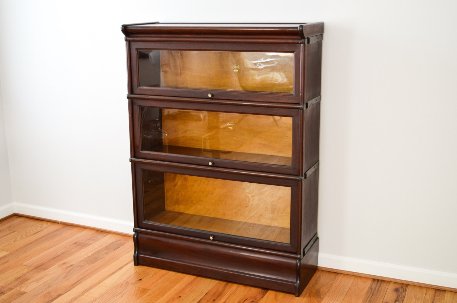 Image of: Small Barrister Bookcase