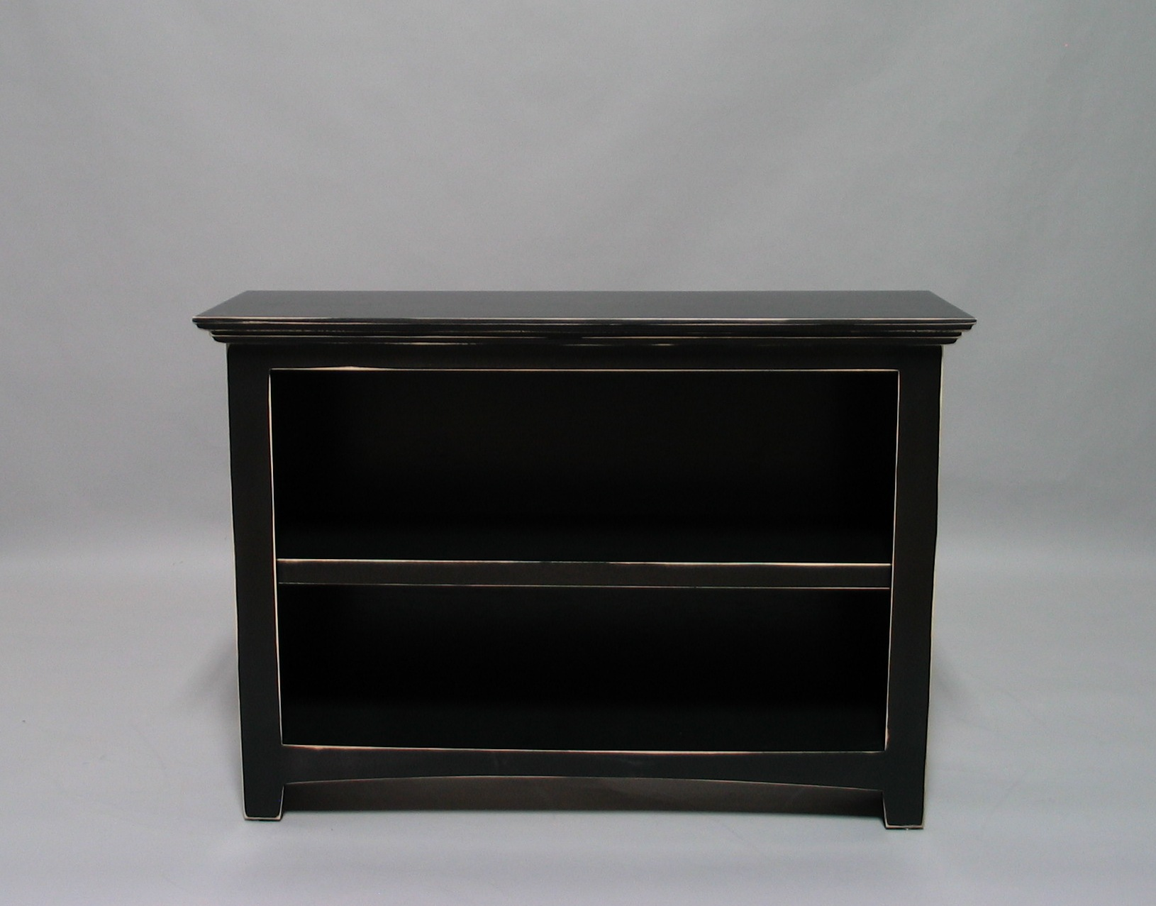 Image of: Small Distressed Bookcase