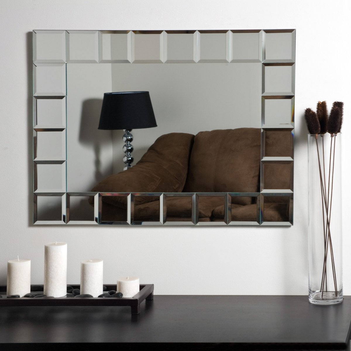 Small Modern Bathroom Mirrors
