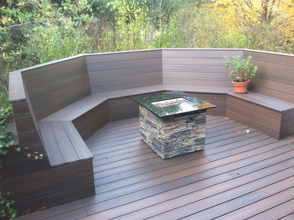 Image of: Small Propane Deck Fire Pit