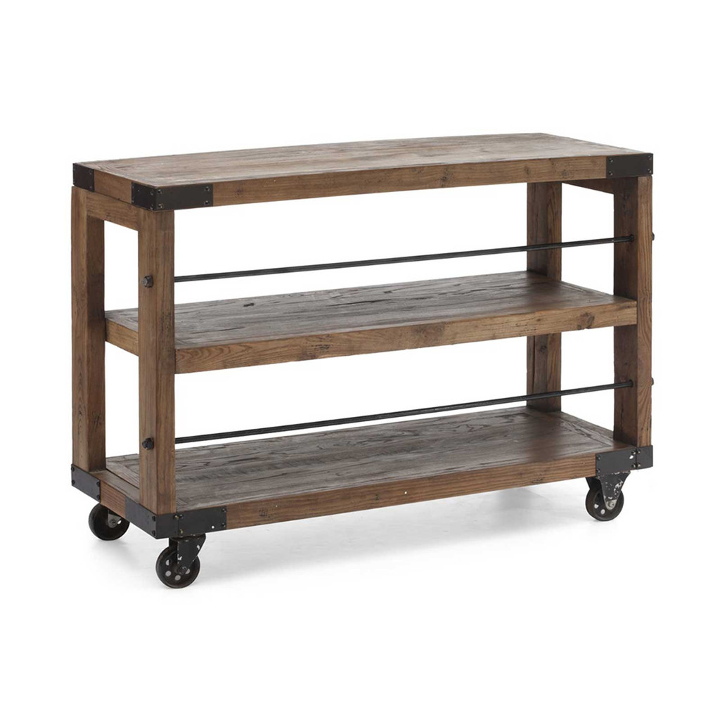 Image of: Small Rolling Bookcase