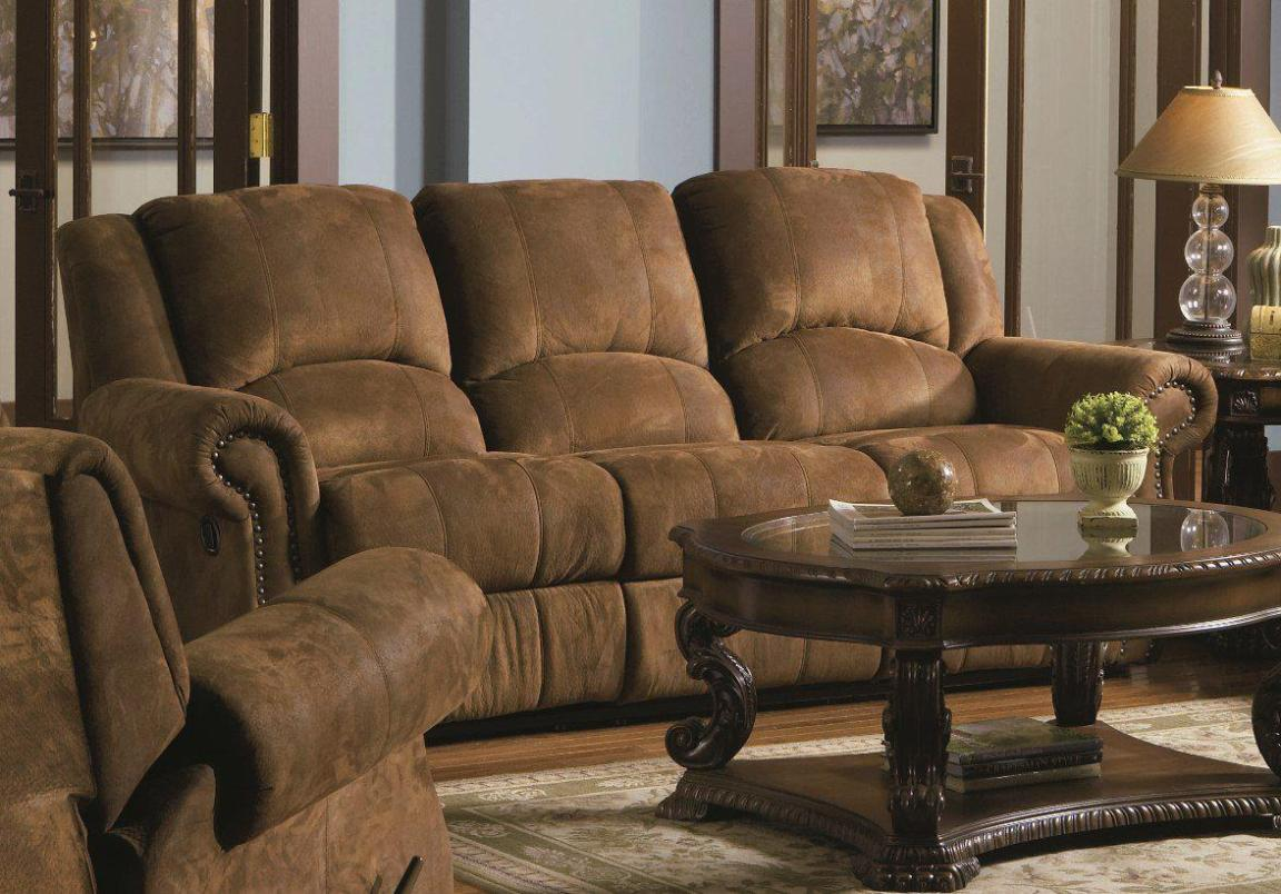 Image of: Small Sectional Sofa With Recliner