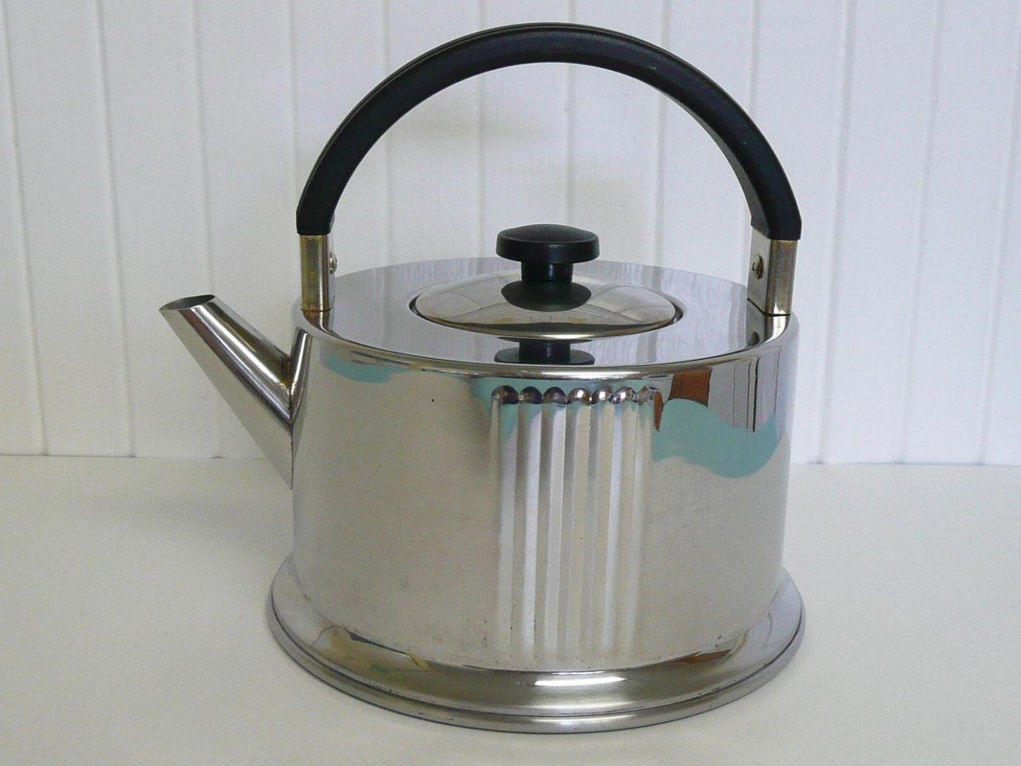 Image of: Small Stainless Steel Tea Kettle