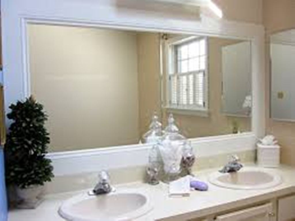 Image of: Small Wall Mirrors Large