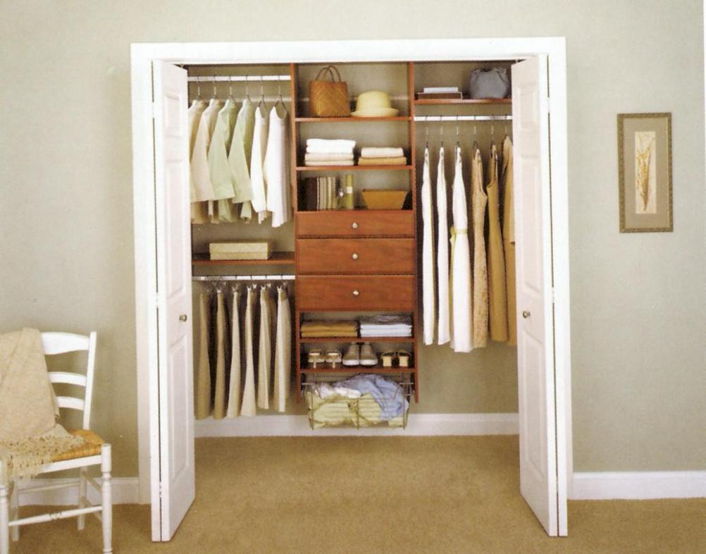 Image of: Small Wardrobe Closet