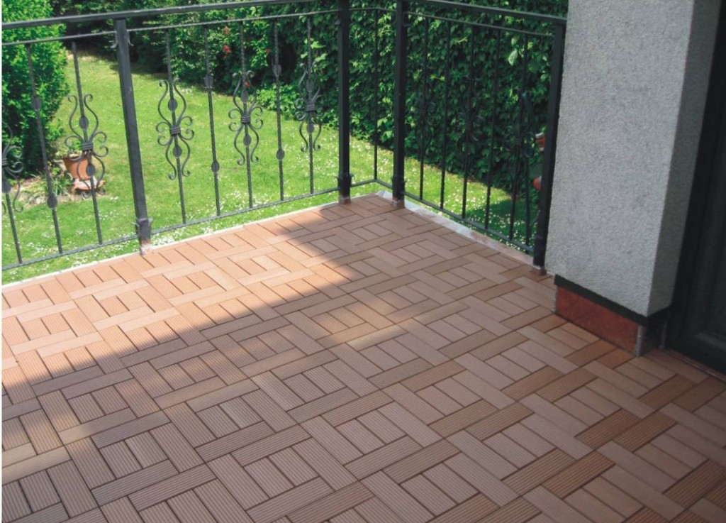 Image of: Snap Deck Tiles Ideas