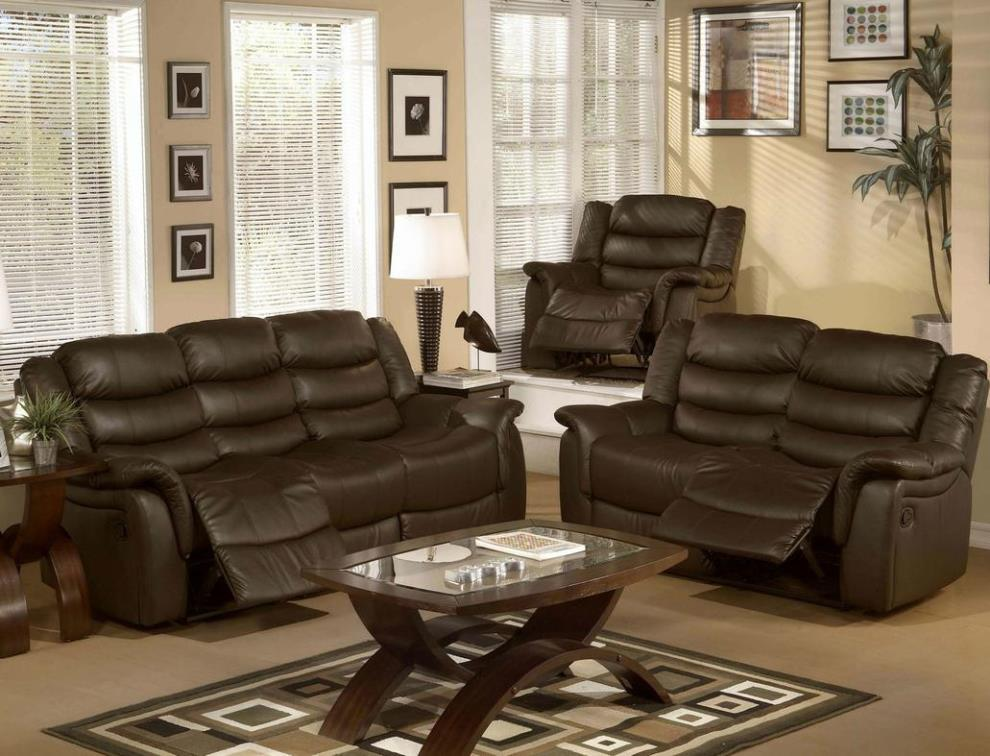 Image of: Sofa And Loveseat Sets With Recliners