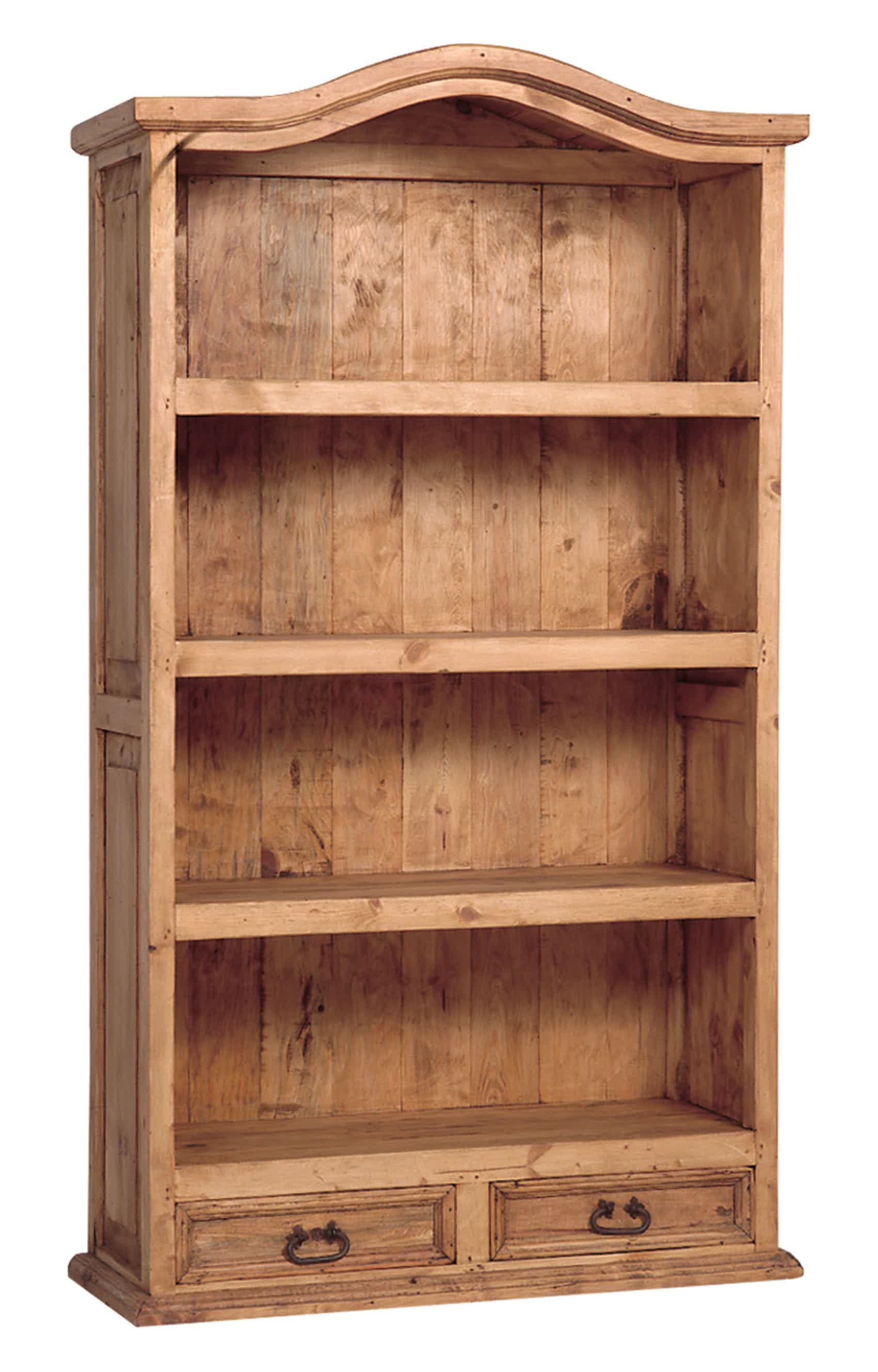 Image of: Solid Wood Bookcase Image