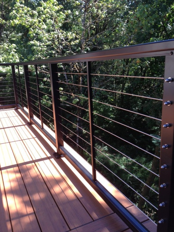 Image of: Stainless Steel Deck Railing Fittings
