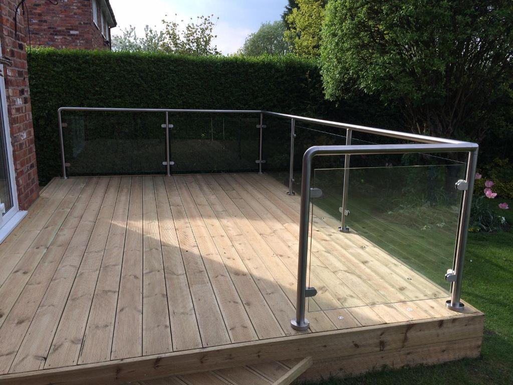 Image of: Stainless Steel Railing