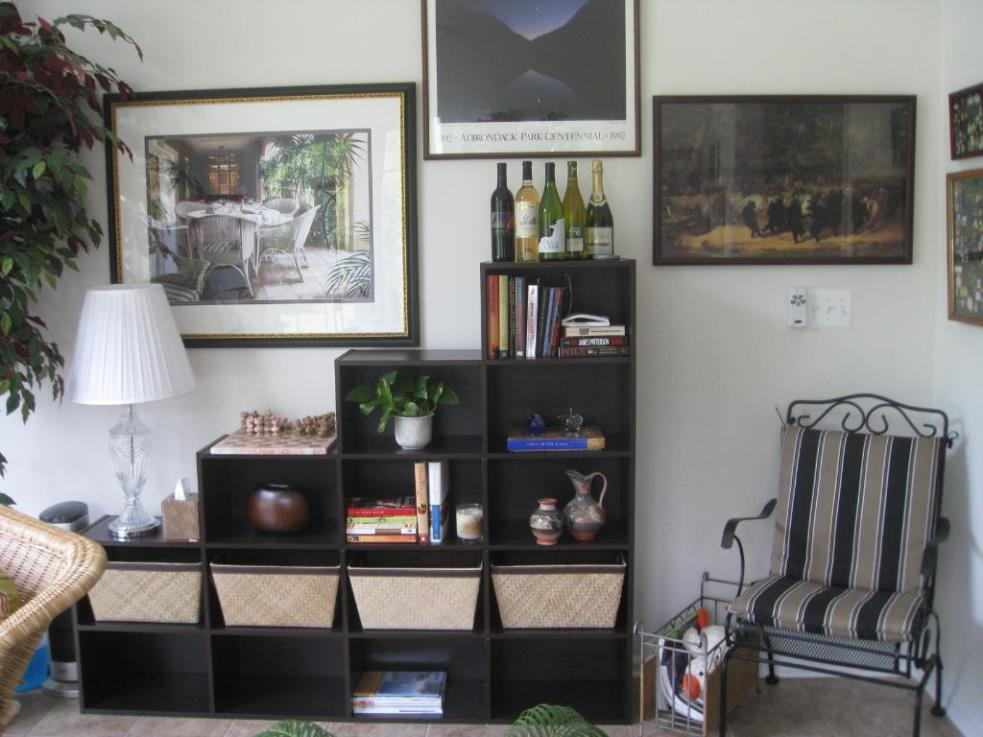 Image of: Stepped Cube Bookcase