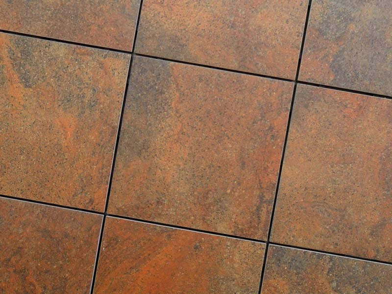 Image of: Stone Deck Tiles Brown