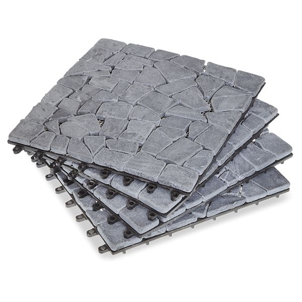 Image of: Stone Deck Tiles Part