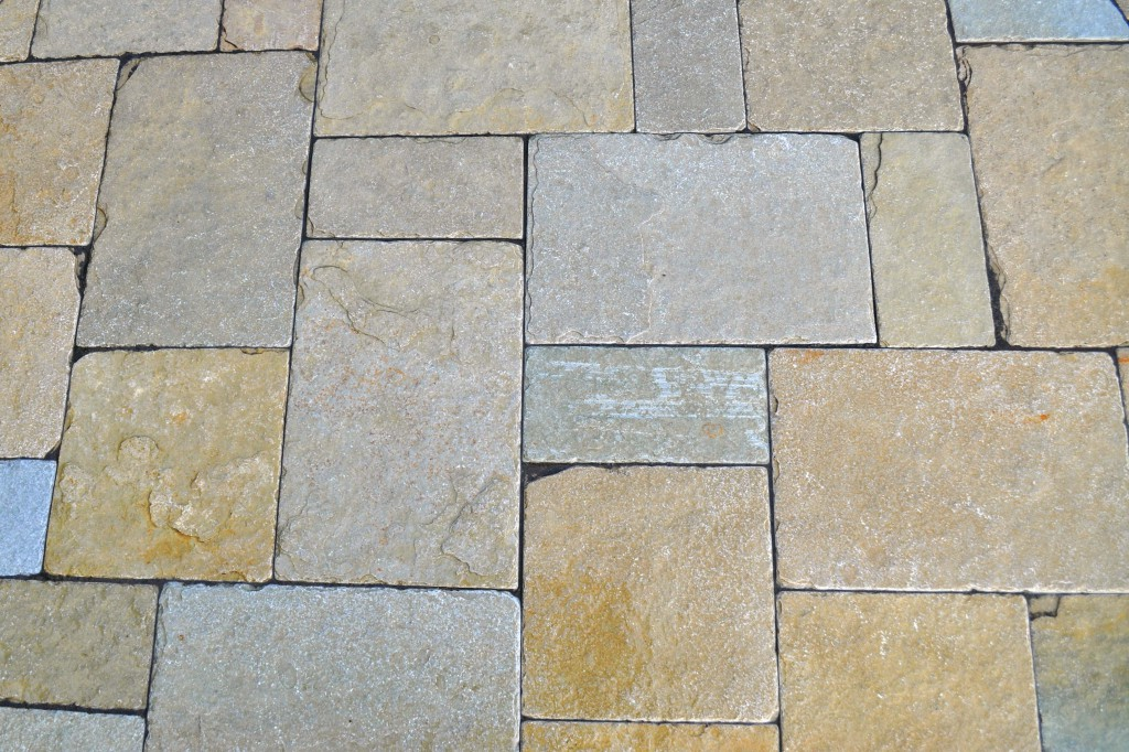 Image of: Stone Deck Tiles Rustic