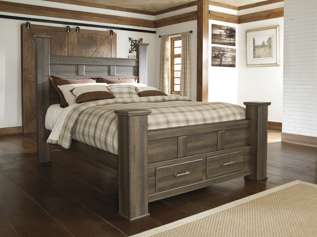 Image of: Storage Bed Queen Size Ideas