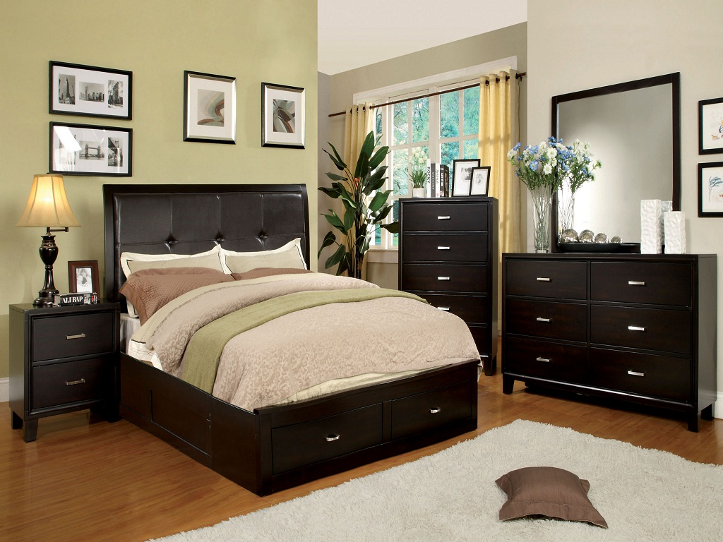 Image of: Storage Bed Queen Size Photos