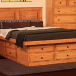 Storage Bed Queen Size With Drawers